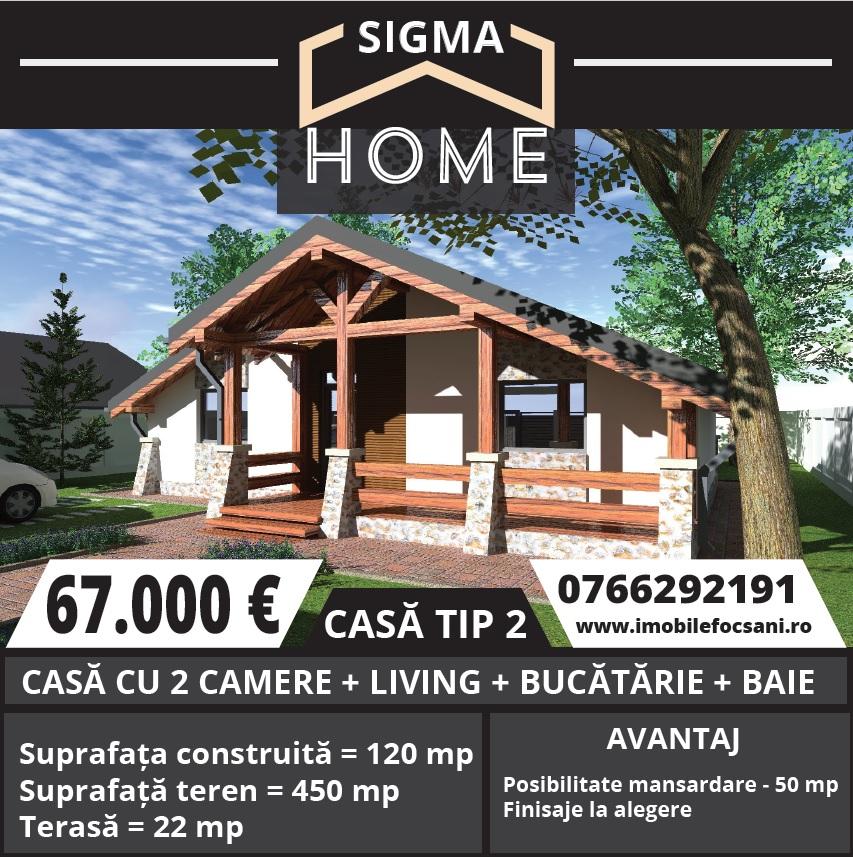 Casa constructie noua in Focsani – 120 mp